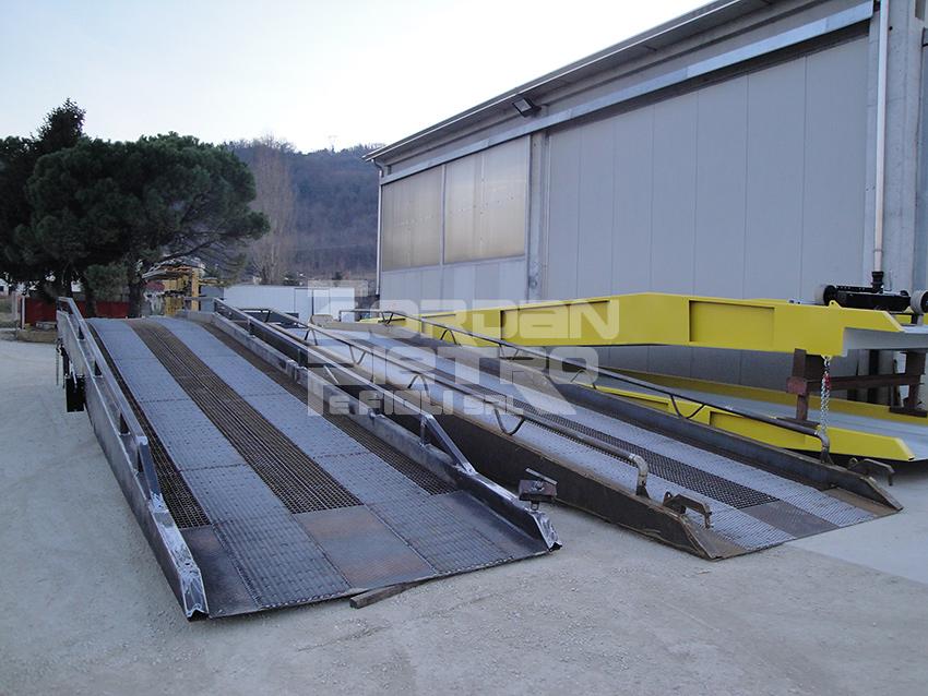 zordan pietro realizzazione rampe da piazzale per camion